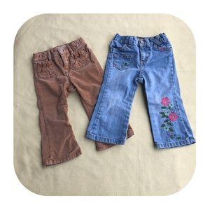 6/$15 18-24M GAP & Old Navy pants